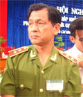 Trung tướng Lê Thế Tiệm.