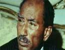 Tổng thống Ai Cập Sadat bị ám sát năm 1981.