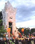 Đông đảo tín đồ Phật giáo có mặt tại