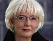 Nữ thủ tướng đồng tính của Iceland Johanna Sigurdardottir. Ảnh: CNN.