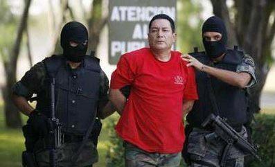 Một sát thủ bị bắt tại Mexico. Ảnh: