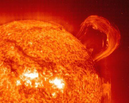 Những đợt bùng nổ trên tầng thượng quyển của mặt trời
