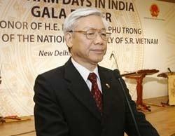 Chủ tịch Quốc hội Nguyễn Phú Trọng phát biểu khai mạc