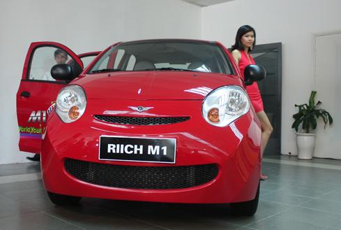 Riich M1, sản phẩm thứ hai của Chery tại Việt Nam.