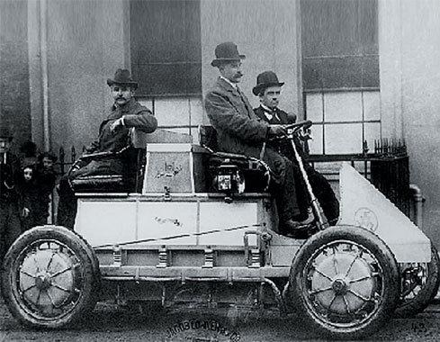 Lohner Porsche Mixte Hybrid 1899