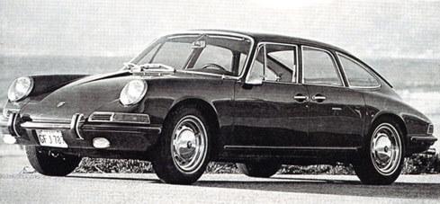 Porsche 911 đời 1967 sedan
