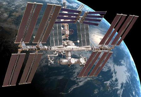 Trạm Không gian quốc tế. Ảnh: cet.edu.