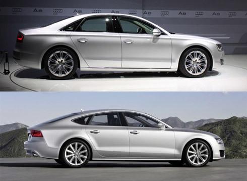 Audi A7 và A8