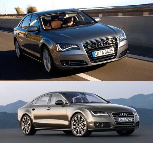 Audi A8 và A7