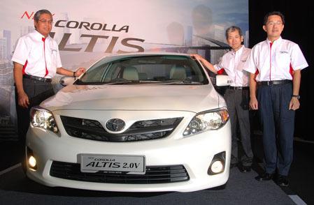 Altis mới tại Malaysia.