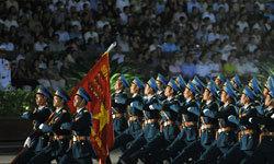 Tổng duyệt diễu binh tại quảng trường Ba Đình