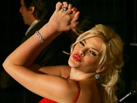 Anna Nicole Smith. Ảnh: AP.