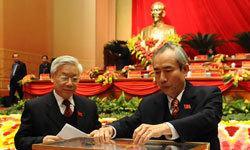 Công bố 200 ủy viên trung ương khóa XI