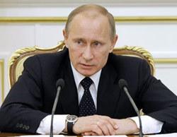 Thủ tướng Nga Vladimir Putin. Ảnh: AFP.