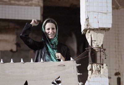 Aisha Gaddafi, con gái của Mommar Gaddfi. Ảnh: