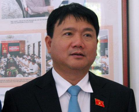 Tân Bộ trưởng Giao thông Đinh La Thăng. Ảnh: Tiến Dũng