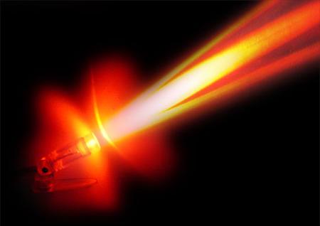 Tia laser. Ảnh: blogspot.com.