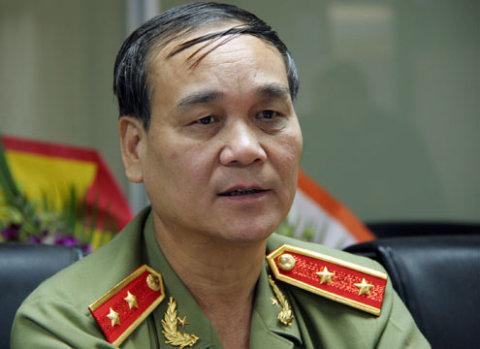 Trung tướng Nguyễn Đức Nhanh. Ảnh: Tiến Dũng
