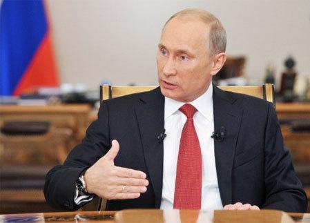 Thủ tướng Nga Vladimir Putin. Ảnh: AFP