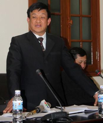 Ông Lê Văn Hiền đã bị đình chỉ chức Chủ tịch huyện Tiên Lãng.