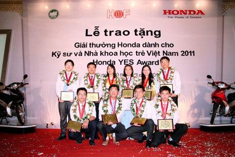 Lễ trao giải Honda Yes 2011.