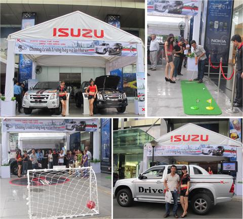 Dù trời mưa trong hai ngày diễn ra nhưng chương trình đã thu hút trên 2.500 khách tham quan và 750 khách hàng tham gia trải nghiệm các trò chơi hấp dẫn tại khu trưng bày và đăng ký lái thử xe.