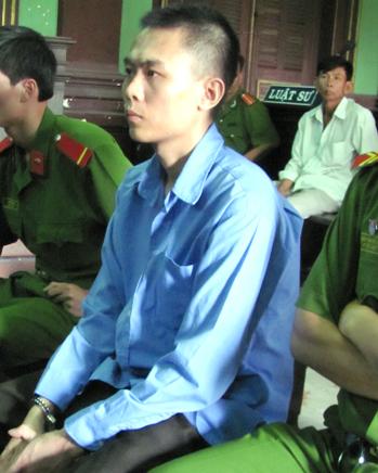 Sau 2 cấp xét xử, tòa tuyên Trương Minh Hải (24 tuổi, quê Long An) về tội Giết người. Ảnh: Hải Duyên.