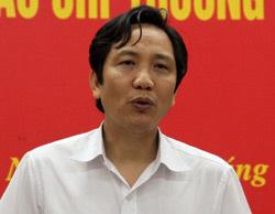 Thứ trưởng Trần Văn Tuấn. Ảnh: N.Hưng.