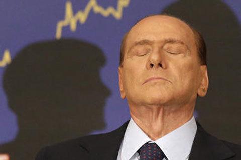 Cựu thủ tướng Italy Berlusconi. Ảnh: AP