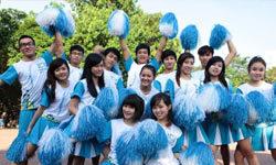 Giới trẻ nhảy cheerleading cổ vũ sống yêu vận động