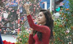Teen Hà Thành rủ nhau 'pose' hình nghinh xuân