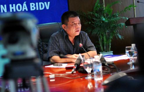 Ông Trần Bắc Hà - Chủ tịch BIDV. Ảnh: Nhật Minh