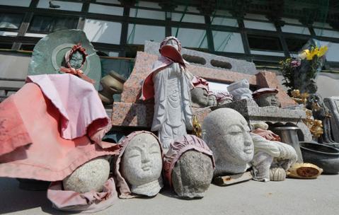 Đầu của những tượng Phật