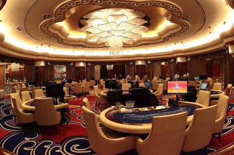 Một phòng đánh bạc ở Solaire Resort & Casino. Ảnh: NPPA