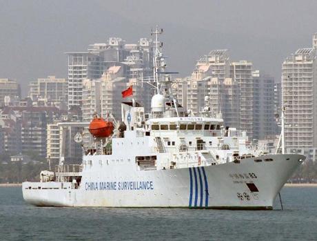 Hải giám 83, một trong những tàu hải giám Trung Quốc
