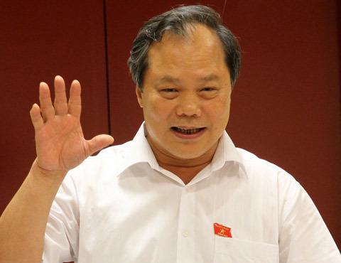 Trưởng ban Biên tập Ủy ban dự thảo sửa đổi Hiến pháp 1992 Phan Trung Lý. Ảnh: Nguyễn Hưng.