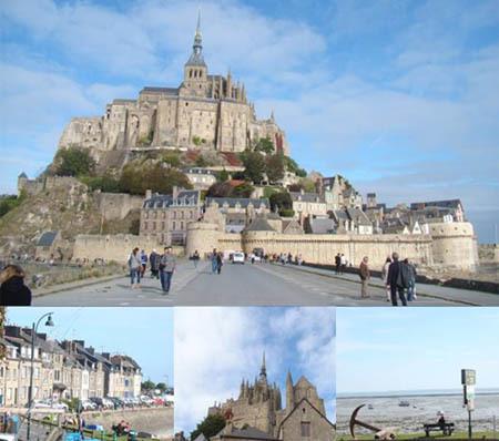 Ảnh: Mont Saint Michel và Cancale village  Bờ biển Normandie