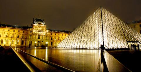 Bảo tàng Louvre. Ảnh: