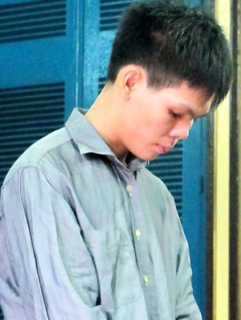 Tại toà, Tân cho rằng vì yêu thương Linh không muốn chia tay nhưng bị cô từ chối nên mới nảy sinh ý định giết hại rồi tự sát. Ảnh: H. D.