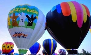 Lễ hội 'bong bóng vĩ đại' ở Mỹ