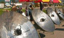 Bếp đun dùng năng lượng mặt trời