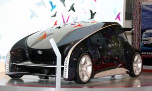 Xe concept tương lai Fun-Vii tại Việt Nam