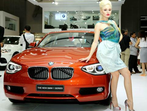 Dàn xe cho giới trẻ của BMW tại Việt Nam Motor Show 2013