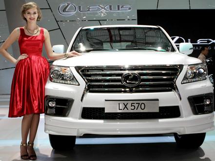 Dàn sản phẩm Lexus 'đổ bộ' vào Việt Nam