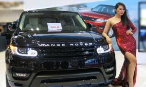Range Rover 'đắt hàng' tại Vietnam Motor Show 2013