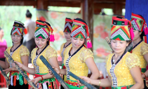 Lễ hội tưởng nhớ thần linh của người Thái