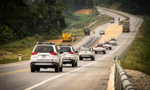 Hành trình Pajero Sport chinh phục Việt Nam về đích tại Sapa