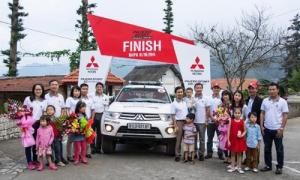 Khép lại hành trình chinh phục Việt Nam hơn 2.000 km