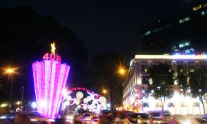 Sài Gòn rực rỡ đón năm 2015