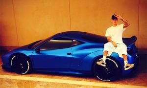 Ferrari 458 độ hầm hố của Justin Bieber